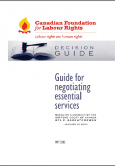 CFLR Guide to Negotiating Essential Public Services - download PDF version here